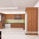Thi công tủ bếp tại Thiệu hóa